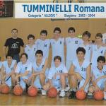 Tummy allievi stagione 2003-04