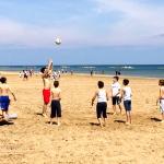 Ancora gioco sulla spiaggia