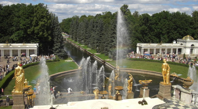 La Reggia di Peterhof