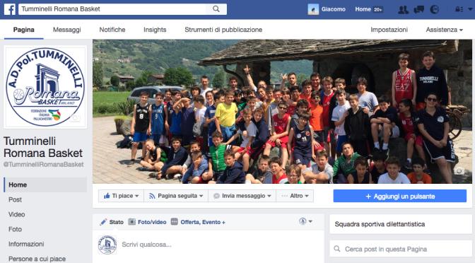 Pagina Facebbok Tumminelli Romana