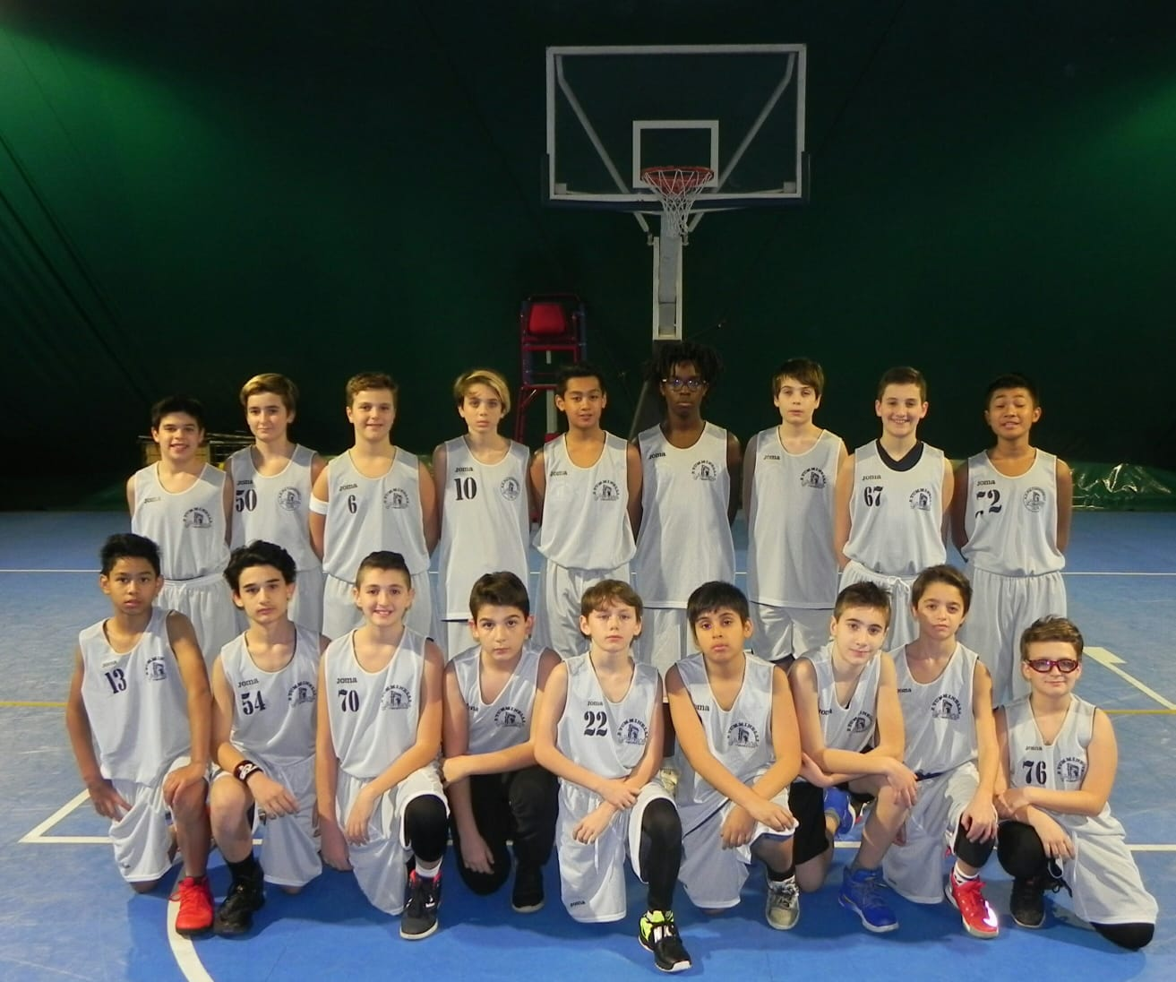 Uisp Basket Milano Calendario.Under 13 Bianca Tumminelli Romana Basket