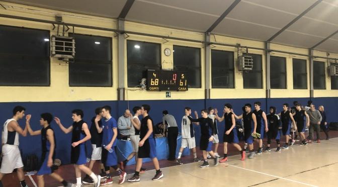 U16 blu vs PallMI